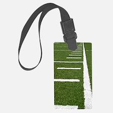 Football Lines Luggage Tag