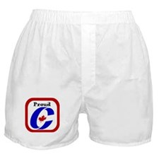 Proud Canadian Conservative Boxer Shorts
