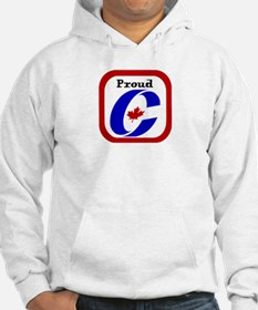 Proud Canadian Conservative Jumper Hoody