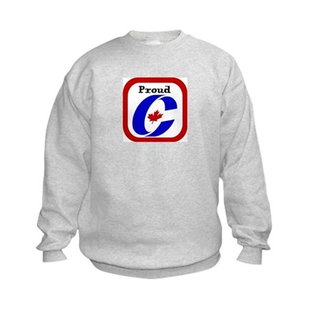 Proud Canadian Conservative Kids Sweatshirt