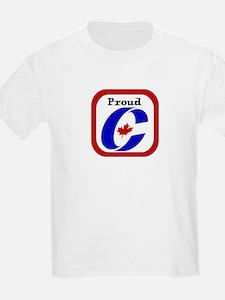 Proud Canadian Conservative Kids T-Shirt