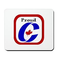 Proud Canadian Conservative Mousepad