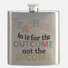 Teachers Outcome Not Income Flask