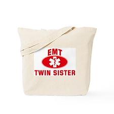 EMT Symbol: TWIN SISTER Tote Bag