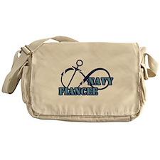 Navy Fiance Messenger Bag