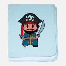 pirate baby blanket