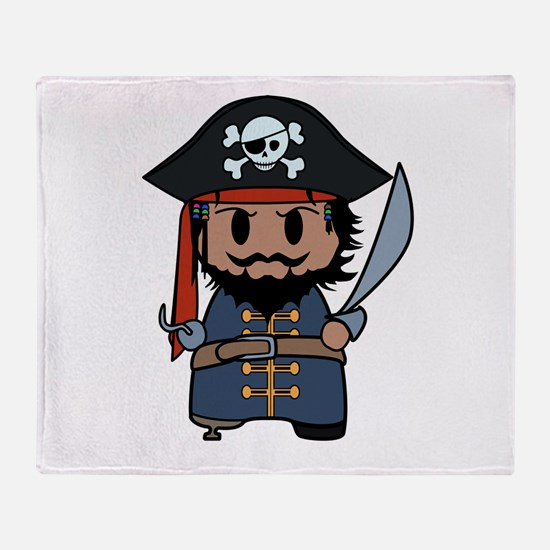 pirate Throw Blanket