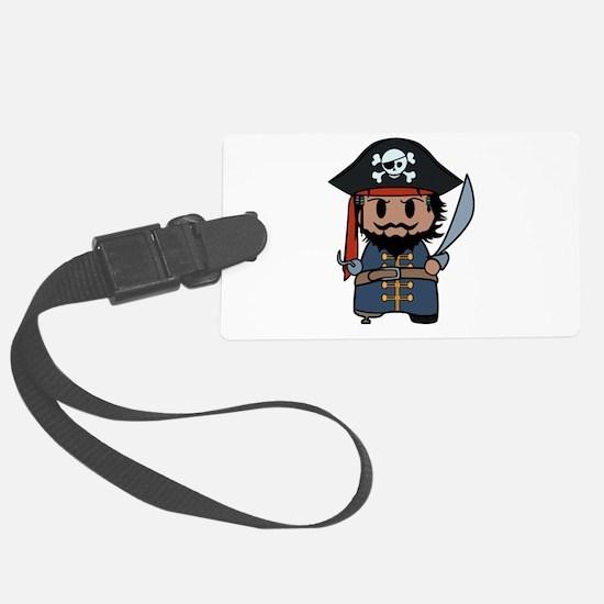 pirate Luggage Tag