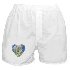 Lilac Heart Art #3 Boxer Shorts