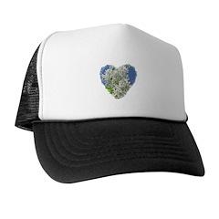 Lilac Heart Art #3 Trucker Hat