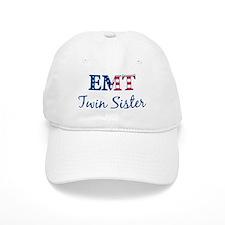 Twin Sister: Patriotic EMT Baseball Cap