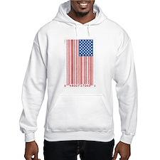 Barcode Flag Hoodie