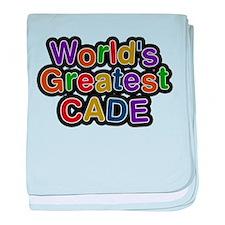 Worlds Greatest Cade baby blanket