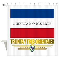 Treinta y Tres Orientales Shower Curtain