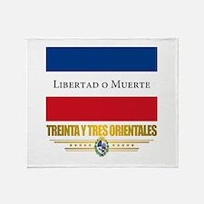 Treinta y Tres Orientales Throw Blanket
