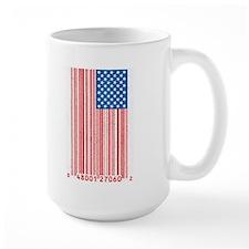 Barcode Flag Mug