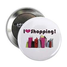 "I Love Shopping 2.25"" Button"