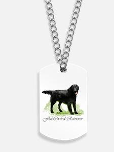 Flat-Coated Retriever Dog Tags