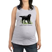 Flat-Coated Retriever Maternity Tank Top