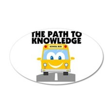 Path to Knowledge Wall Decal