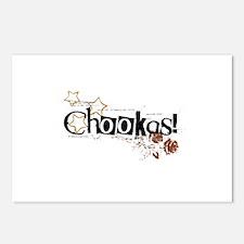 Chookas Postcards (Package of 8)