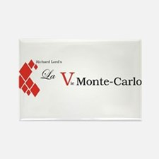 La Vie Monte-Carlo logo Rectangle Magnet