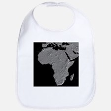Africa Relief Map Bib