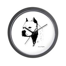 stamp design pitbull,amstaff,bully head design Wal