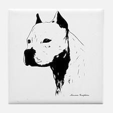 stamp design pitbull,amstaff,bully head design Til