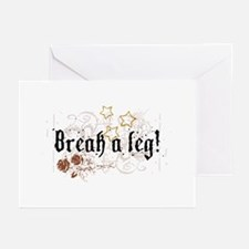 Break a Leg Greeting Cards (Pk of 10)
