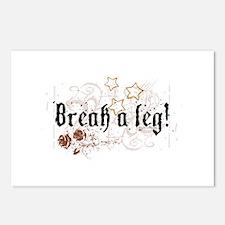 Break a Leg Postcards (Package of 8)