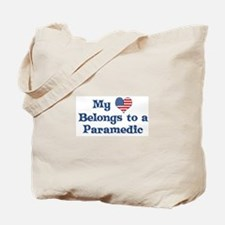 My Heart Belongs to a Paramed Tote Bag