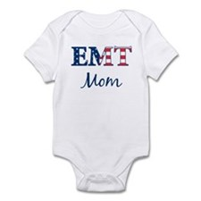 Mom: Patriotic EMT Infant Bodysuit
