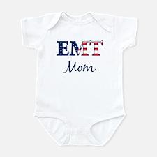 Mom: Patriotic EMT Infant Bodysuit