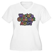 Worlds Greatest Aunt Plus Size T-Shirt