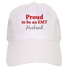 Proud EMT: Husband Baseball Cap