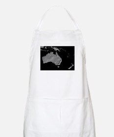 Australia Relief Map BBQ Apron