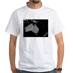 Australia Relief Map Shirt