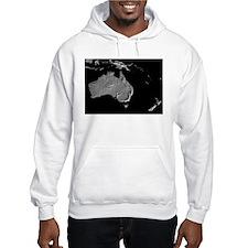 Australia Relief Map Hoodie