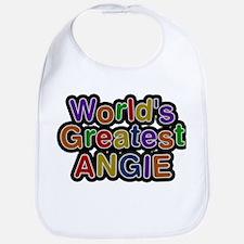 Worlds Greatest Angie Bib
