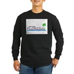 Visit Scenic Florida Long Sleeve Dark T-Shirt