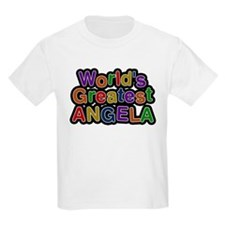 Worlds Greatest Angela T-Shirt