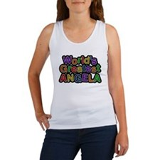Worlds Greatest Angela Tank Top