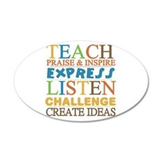 Teacher Creed Wall Decal