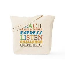 Teacher Creed Tote Bag
