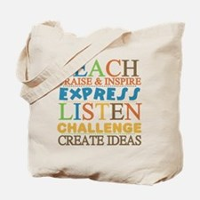 Teacher Creed Tote Bag