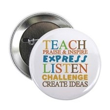 "Teacher Creed 2.25"" Button"