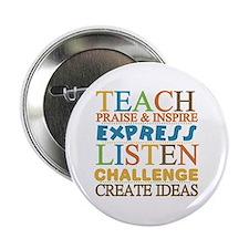 "Teacher Creed 2.25"" Button (10 pack)"