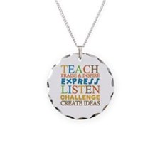 Teacher Creed Necklace