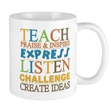 Teacher Creed Mug